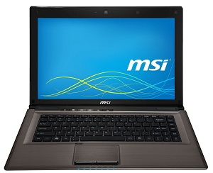 MSI CX41 1AC-034XTH i3-3110M